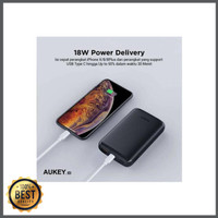 Power Bank AUKEY Quick Charge 3 0 Power Delivery Plus Lightning Input