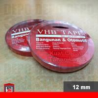 3M VHB Isolasi Double Tape 12 mm ORIGINAL (Bangunan & Otomotif) VHB12