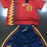 Baju bola anak kid worldcup piala dunia spain spanyol kaos world cup