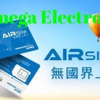 Terlaris Airsim Travelling Internet Simcard Sim Card Kartu Data 100+