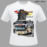 Kaos Bis PO Haryanto Tshirt Jamesbond Jetbus3 Baju Bus James Bond Bon