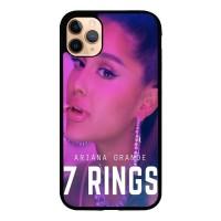 Casing iPhone 11 Pro Max ariana grande 7 rings X8584