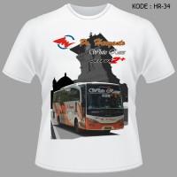 Kaos Bus Po Haryanto Jetbushd2 Baju Bis RN285 Jetbus White Roses Setra