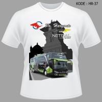 Kaos Bis PO Haryanto Tshirt Netral New Spirit 071 Jetbus3 Baju Bus