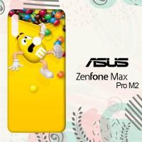 Casing Asus Zenfone Max Pro M2 M&M's Yellow Character L3013