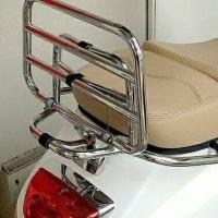 PROMO Aksesoris backrack vespa lx lxv s sandaran belakang back rack