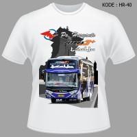 Kaos Bis Po Haryanto Bus Tsalju Jetbus3 HDD Tshirt Salju Baju Bis