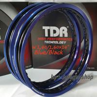PROMO VELG TDR 2 tone WX 1.40&1.60 Ring 14 Blue/Black