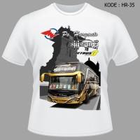 Kaos Bis PO Haryanto Tshirt Siliwangi Jetbus3 Baju Bus Mania Jetbus