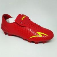 Kicosport sepatu bola specs accelerator exocet fg dark red yellow