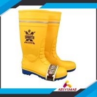 sepatu docmart GOSAVE SEPATU BOOT SAFETY XSPARTA PVC RUBBER KARET BOOT