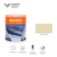 Cat Besi / Meni Madero Light Grey 1 Kg setara Bellmas