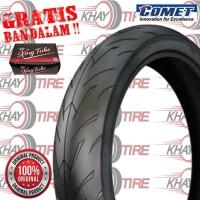 Ban Motor Comet M1 60/100 Ring 14 NON TUBELESS // ALL MATIC MODIFIKASI