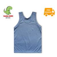 Skabe Singlet Baju Anak Unisex Polos Warna Usia 1 - 24 Bulan Vench