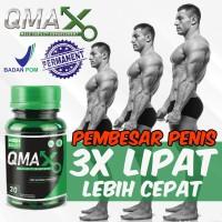 OBAT KUAT PRIA QMAX - Pembesar Penis - Alat Vital Kejantanan Herbal