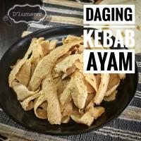 Daging Kebab Ayam /Asap 250gr
