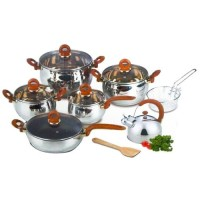 Oxone Panci Stainless Steel/Classic Cookware Set OX-966
