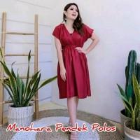 Dress Manohara Pendek Polos - Daster Bali - Dress Santai Wanita