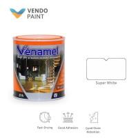 Venamel Cat Kayu dan Besi 0,9L Super White setara Emco,Bee Brand