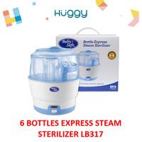 Baby Safe LB317 Bottle Express Steam Sterilizer Alat Steril