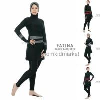 Baju Renang Muslimah Muslim Wanita Perempuan JUMBO Dewasa Edora Fatina - M