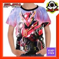 Kaos Build Kamen Rider Tokusatsu Jepang Baju Anak Cowok super hero
