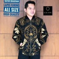 Jaket Batik Pria Terbaik Motif Khas Indonesia Recommended Trendi Hits