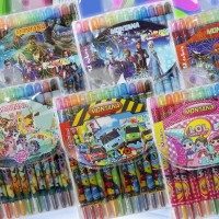 Twist Crayon / Krayon Putar Montana T-TC1 / 12 warna