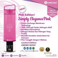 Hydrogen Fontaine Pink LWG Pem Inhaler Mesin Botol Air Hidrogen Korea