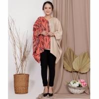 Blouse Batwing Batik Lily