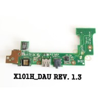 Board Panel Modul Swich ON USB Sound Lan Asus Eee PC X101H ( Original)