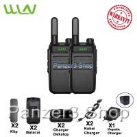 Walkie Talkie WLN KD-C32 (Isi 2 Pcs) Hitam Baterai 1500mAH