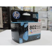 Cartridge Tinta HP 802 Small Color Warna (s/d 100 pages)