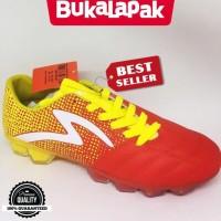 Terpopuler ! Sepatu bola specs original Equinox FG Emperor red yellow