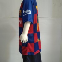 Terpopuler ! Baju Jersey anak Messi Anak Setelan baju bola 5758
