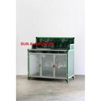 Best Seller Meja Cuci Piring Keramik + Alumunium Super Harga Promo