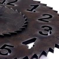 Juante | jam dinding clock unik artistik industrial dekorasi interior