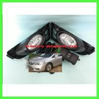 Termurah Fog Lamp Lampu Kabut Honda Civic Fd 2009 2010 2011 Komplit