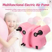 Pompa Balon Elektrik Multifungsi Tenaga Tinggi dengan 2 Nozzle