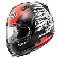 Arai Rapide-IR Original SNI Helm Full Face - Splash Red