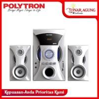 Polytron PMA-9505 Multimedia Audio Speaker Portabel - White