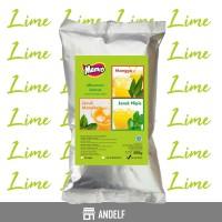Bubuk Minuman Lime / Jeruk Nipis Kemasan 500 Gram