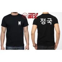 Kaos Baju Tshirt Korean BTS Jungkook Junkook Korean Army Full