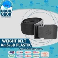 WEIGHT BELT AMSCUD PLASTIC BUCKLE