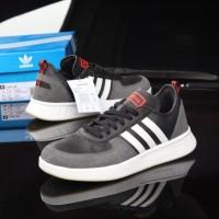 Sepatu Adidas Court 80s Black List White Original - Sneakers Adidas