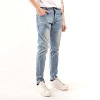celana panjang pria skiny jeans blue grey
