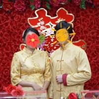 congsam cheongsam baju cina qipao couple pasangan sangjit gaun dress