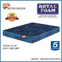 Kasur Busa Royal Foam GRAND EXCLUSIVE 200X200 MURAH