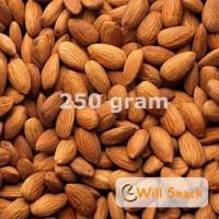 Kacang Almond Original Roasted Almon Panggang Kupas Kulit 250 gr 1/4kg