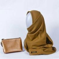 hijab segi empat premium bahan voal 120x120cm kode mustard